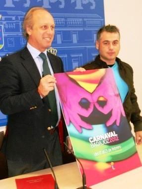 Cartel Carnaval de Badajoz 2012