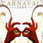 Cartel Carnaval de Herencia 2009 - Eva Cobos