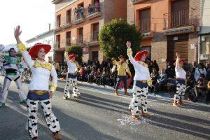 """Asociación Cultural """"Los Imposibles"""", Carnaval de Herencia 2012."""