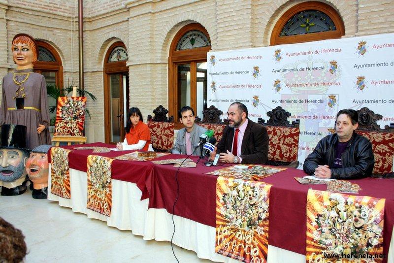 herencia alcalde presenta