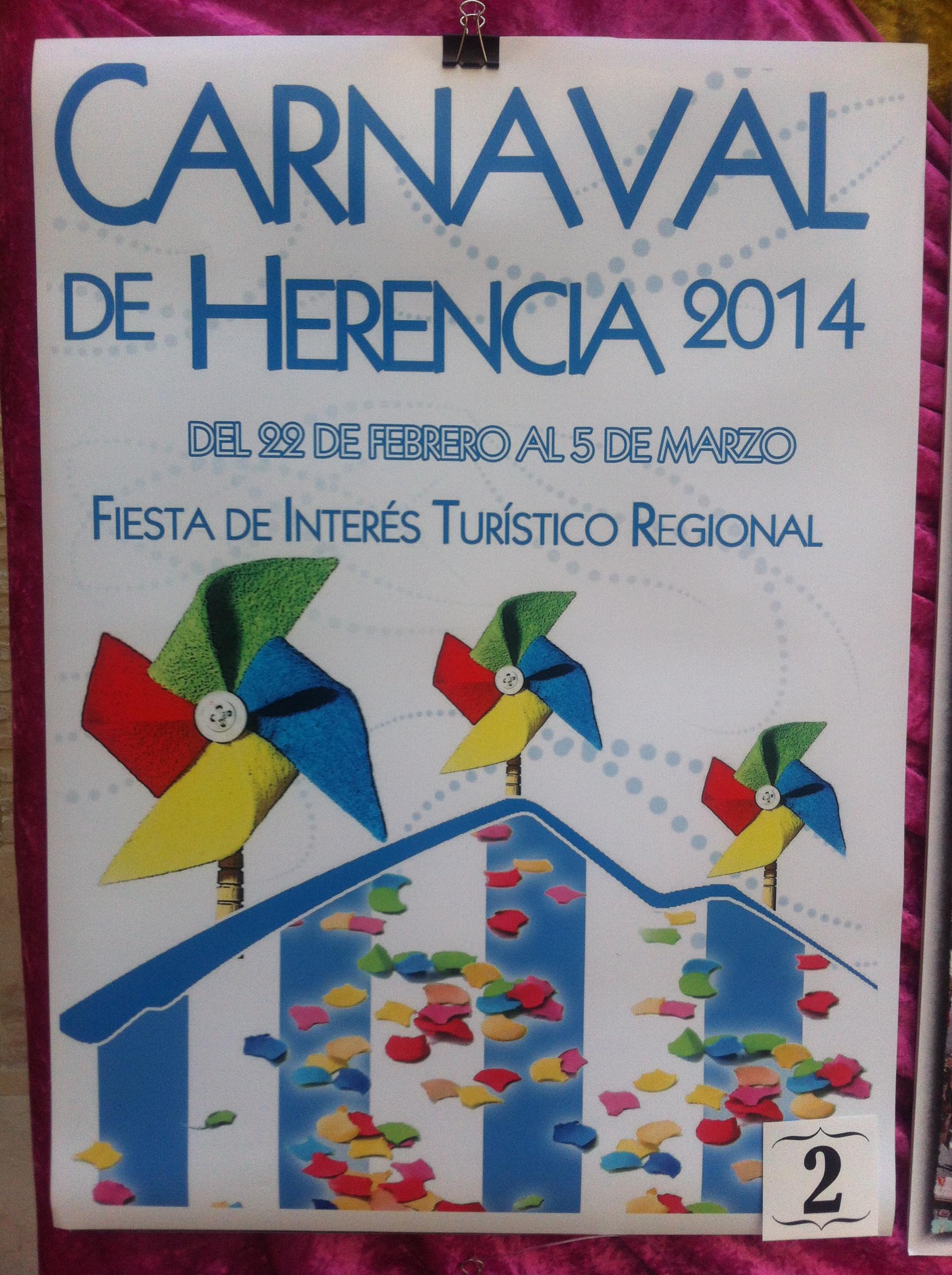 Concurso Carteles Carnaval 2014 (2)