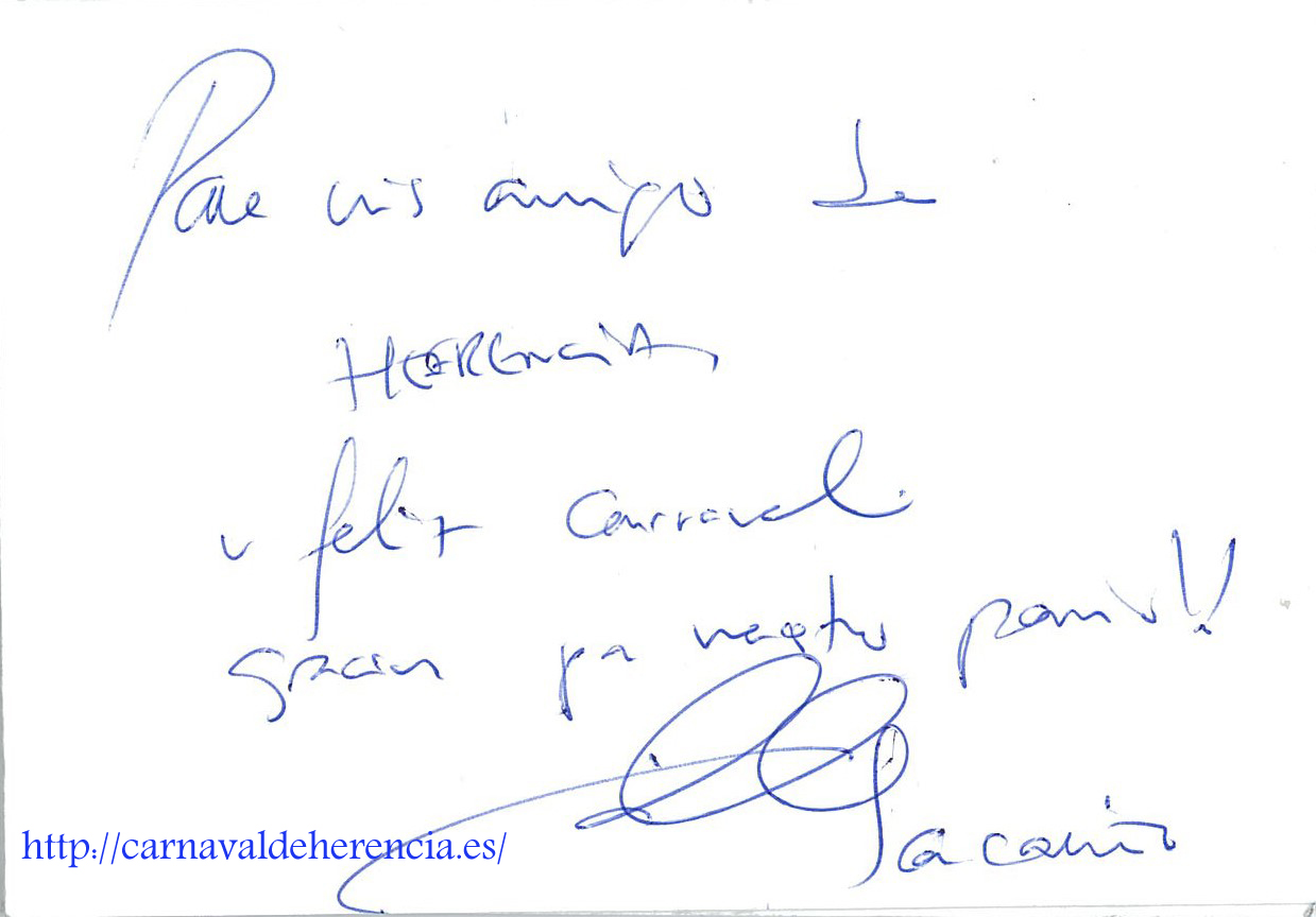 Autografo Iker Casillas copia