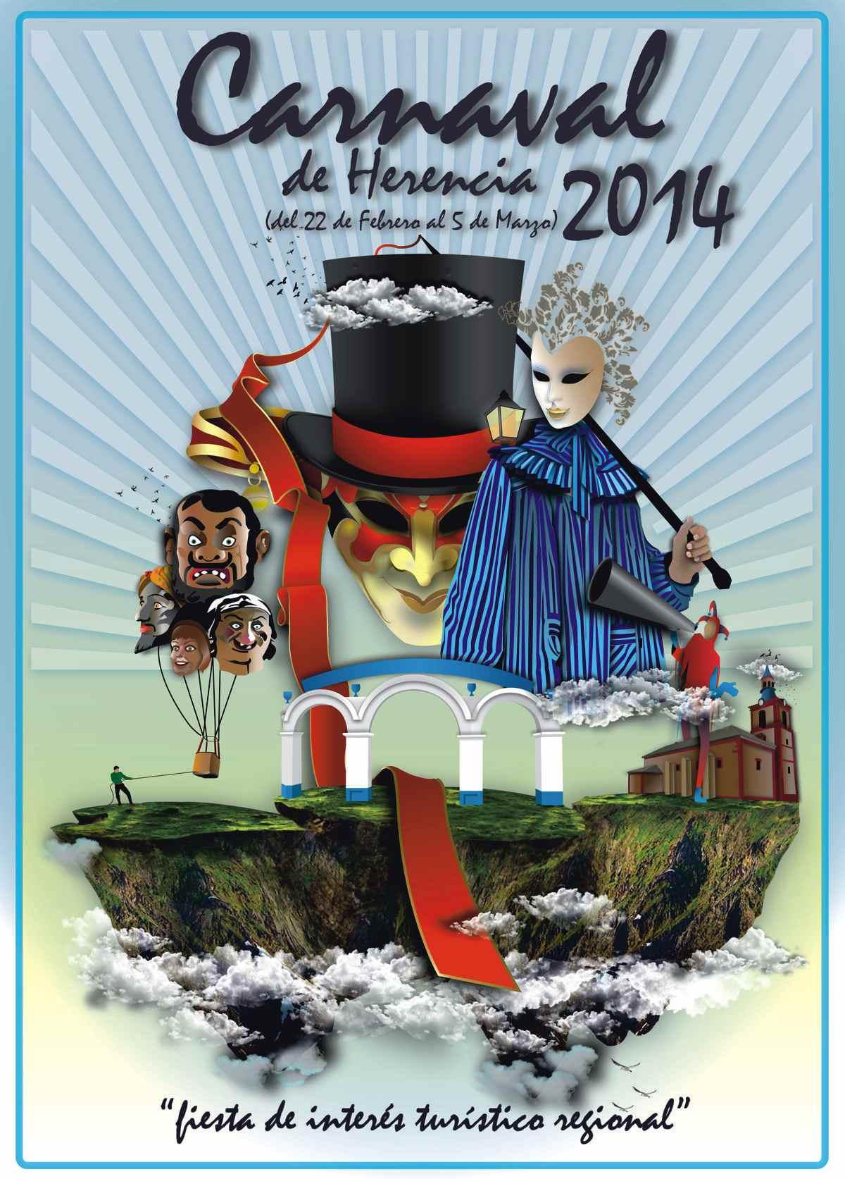 Cartel-anunciador-Carnaval-de-Herencia-2014
