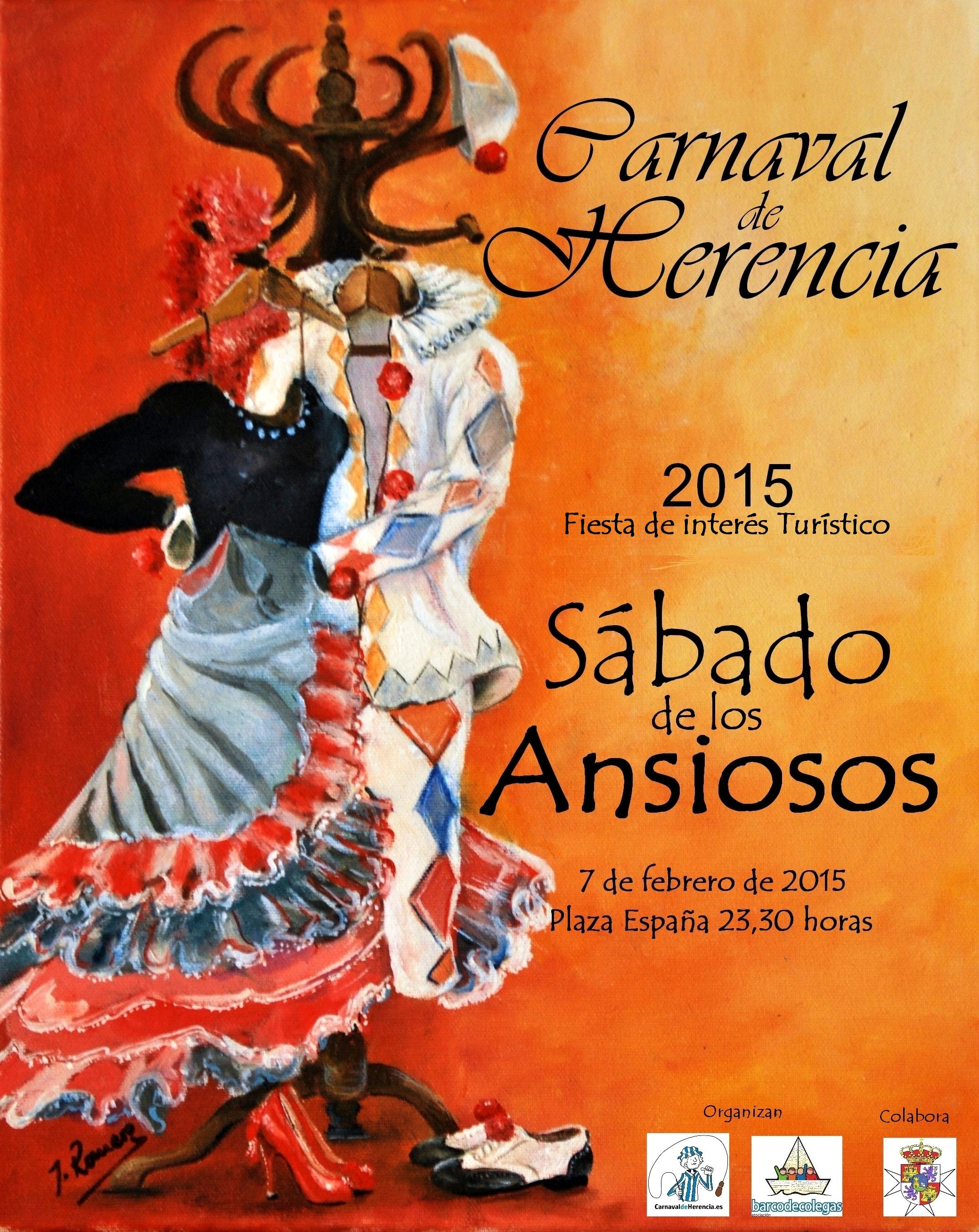Cartel Sabado de los Ansiosos 2015