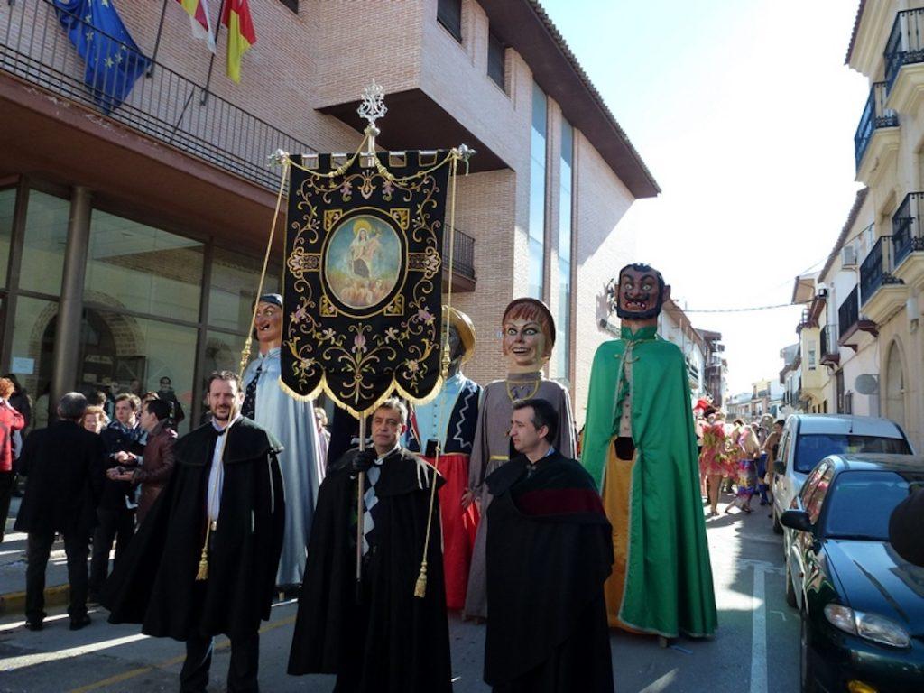 Estandarte de Ánimas Carnaval de Herencia 2013
