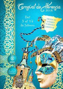 El Carnaval de Herencia 2018 ya tiene su cartel de Interés Turístico Nacional