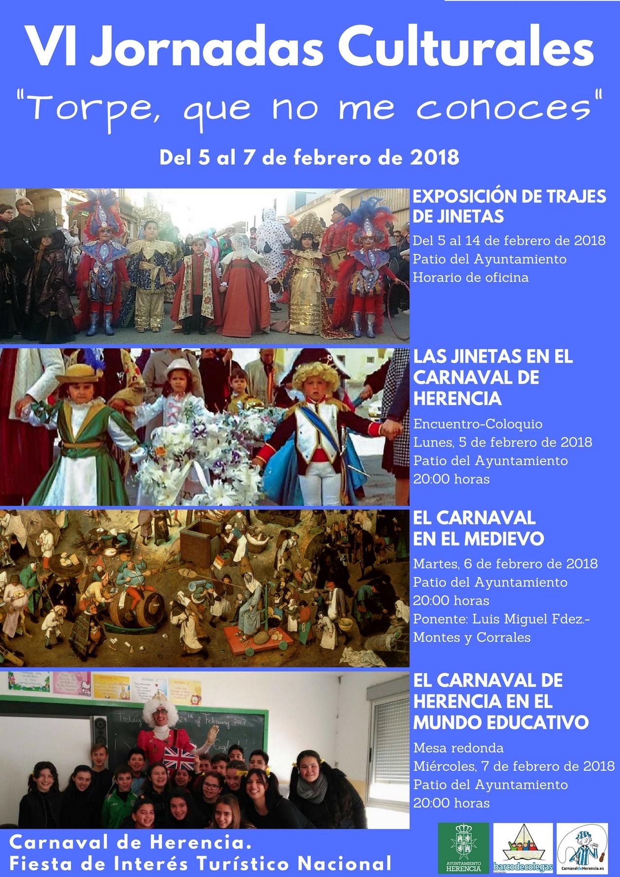 VI Jornadas Culturales del Carnaval de Herencia