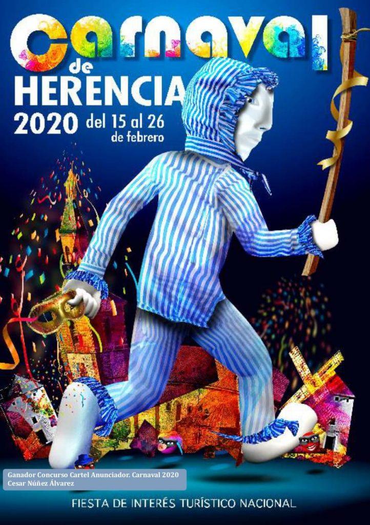 Cartel Carnaval de Herencia 2020
